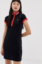 Платье-поло Fred Perry amy winehouse foundation - Черный