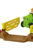 Транспортное средство Fisher-Price Little People Helpful Harvester Tractor