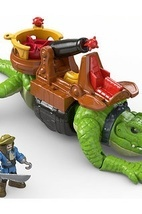 Игровой набор Fisher Price Imaginext - Капитан Крюк и крокодил